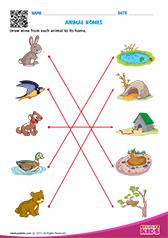 Free Printable Animals Worksheets for Pre-k & Kindergarten