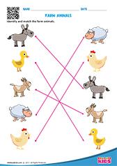 Free Printable Animals Worksheets For Pre K Kindergarten