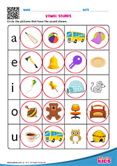 Teaching Vowel Sounds Worksheets Worksheets for all | Download and ...
