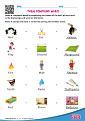 math worksheet : english identify compound words worksheets for kids : Compound Words Worksheets For Kindergarten