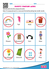 Compound Words Worksheet s | Compound Words | Pinterest ...