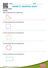 Draw the shapes