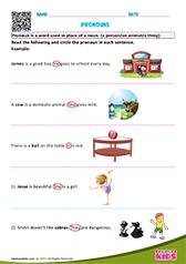 71 FREE ESL subject pronouns worksheets