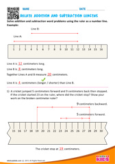 Addition and Subtraction of Lengths