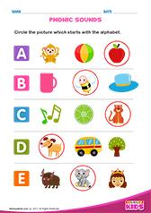 Free Printable Phonics Worksheets For Pre K Kindergarten