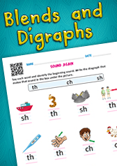 Blends and Digraphs
