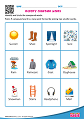 ... compound words worksheets for kids : Compound Words Worksheets For