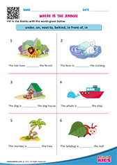 math worksheet : english prepositions worksheets kindergarten : Preposition Worksheets For Kindergarten