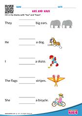 Kindergarten Worksheets Pronouns: English Pronouns worksheets Kindergarten,
