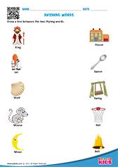 math worksheet : english rhyming words worksheets kindergarten : Opposites Worksheets For Kindergarten