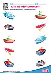 ... content/Kindergarten/worksheets/science/Transportation/Water Transport