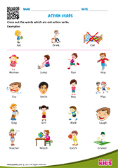 math worksheet : english action verbs worksheets for kids : Verb Worksheet For Kindergarten
