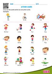 Printables Work Sheets On Action Verb english action verbs worksheets grade 1 verbs