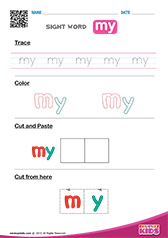 English Sight Words Worksheets for kids