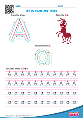 English Vowels Worksheets Kindergarten