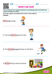 Subject and Verbs