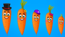 Carrot Finger Family