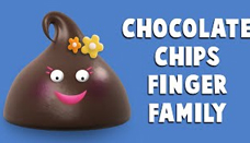 Chocolate Chips Finger Family