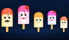 Ice Cream Candy Finger Family