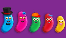 Jelly Bean Finger Family
