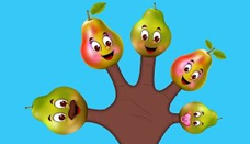 Pear Finger Family