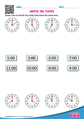Match the Clocks