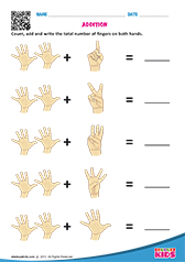 Finger addition
