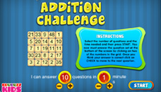 Addition Challenge