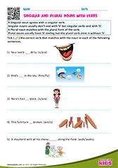 Singular and Plural Noun with Verbs