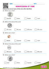 Identification of Coins