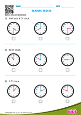 Reading clocks