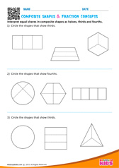 Composite Shapes & Fraction Concepts