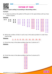 Pattern of Pairs