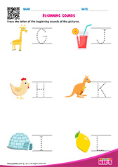 Beginning Sounds G to L