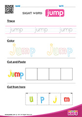 Sight Word jump