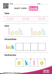 Sight Word look