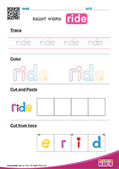 Sight Word ride