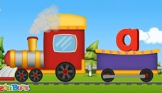ABC Song | ABC Train song | Alphabet Lower case Train song