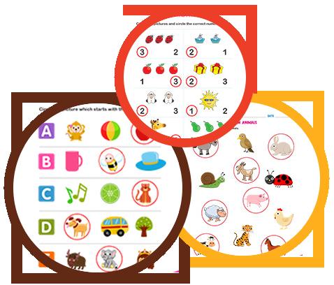 Free Printable Worksheets For Kindergarten Pre K Edubuzzkids